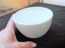 VINTAGE TRADITIONAL DESIGN SMALL DEEP PUDDING BOWL DISH STEELITE EXCELLENT COND